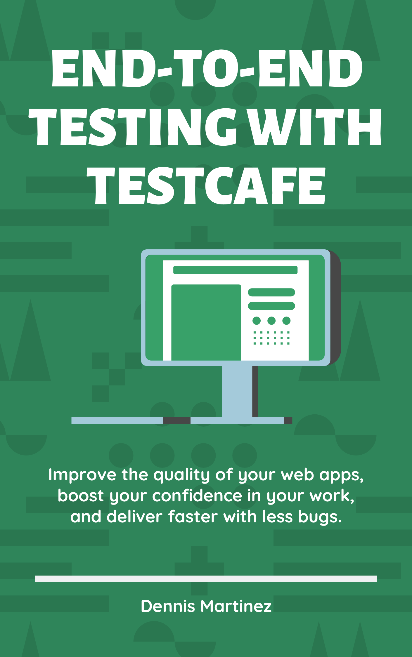 End-to-End Testing with TestCafe Book Cover